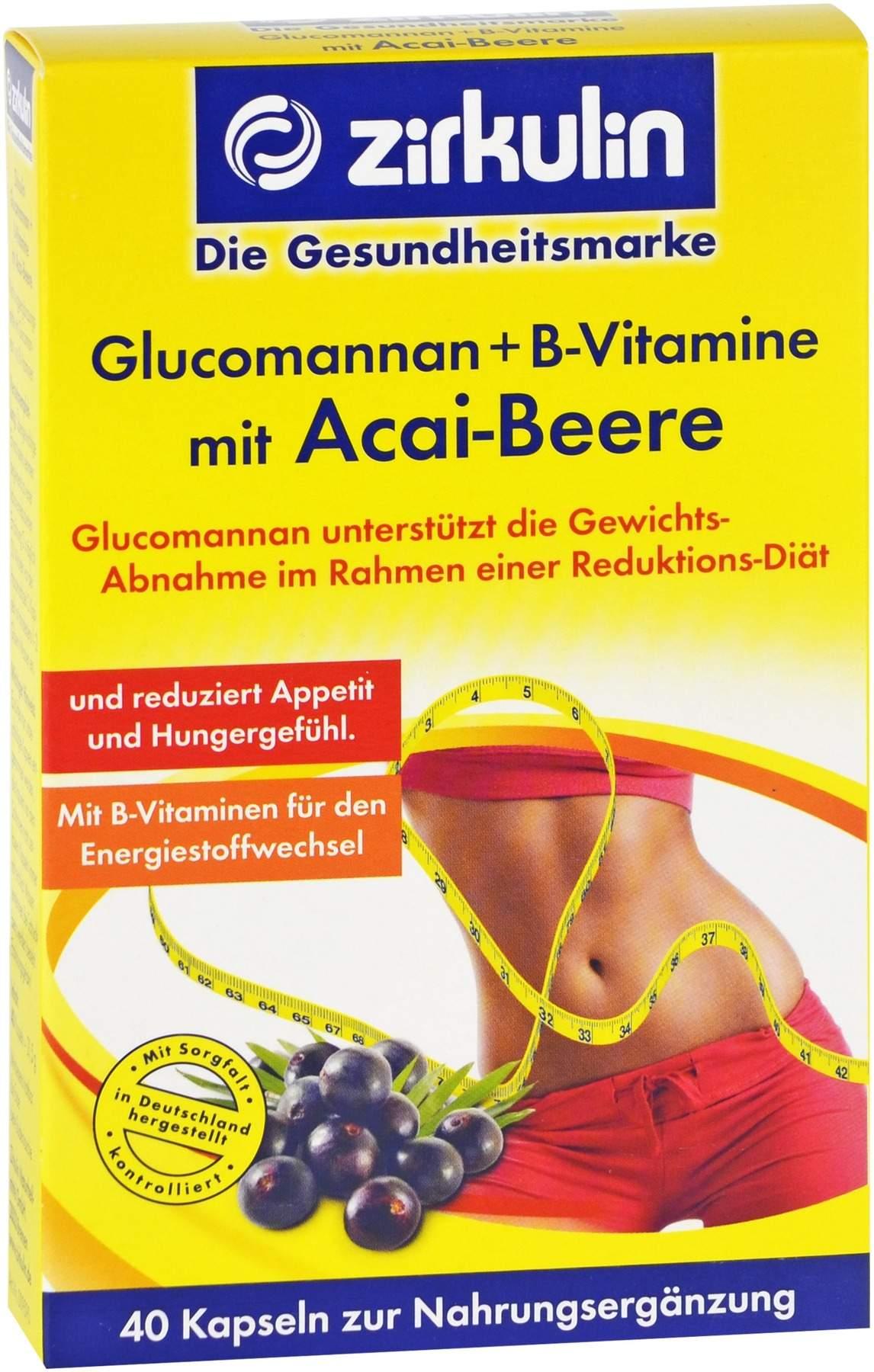 Acai Beeren Kapseln zur Gewichtsreduktion
