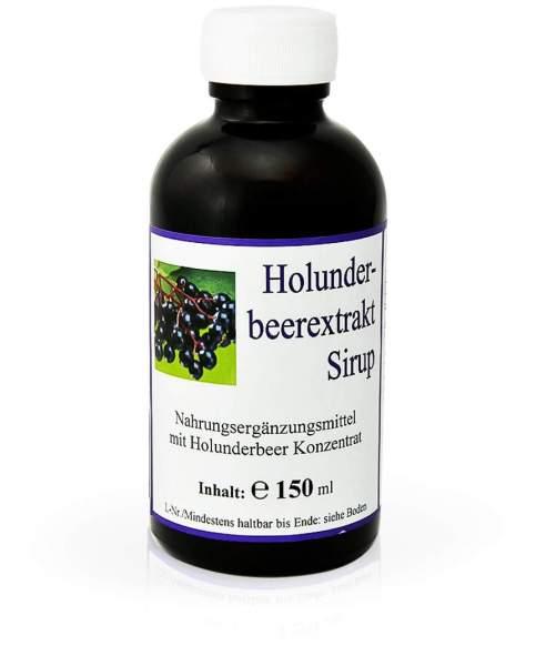 Holunderbeerextrakt Sirup 150 ml Sirup
