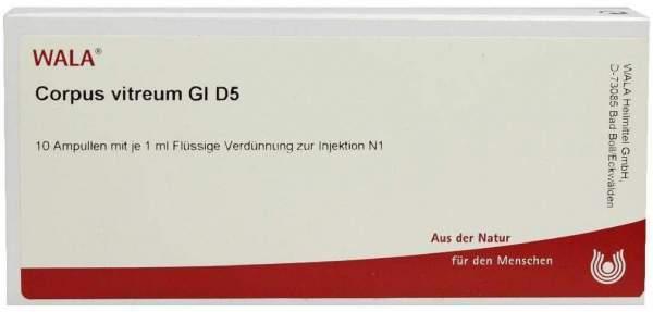 Corpus Vitreum Gl D 5 Ampullen 10 X 1 ml