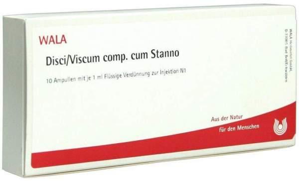 Wala Disci-Viscum Comp. Cum Stanno Ampullen 10 X 1 ml