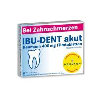 Ibu Dent Akut Heumann 400 mg Filmtabletten 20 Filmtabletten