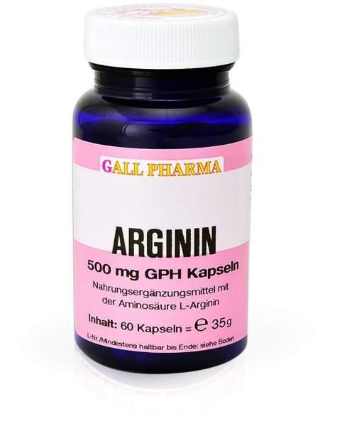 Arginin 500 mg Gph 60 Kapseln