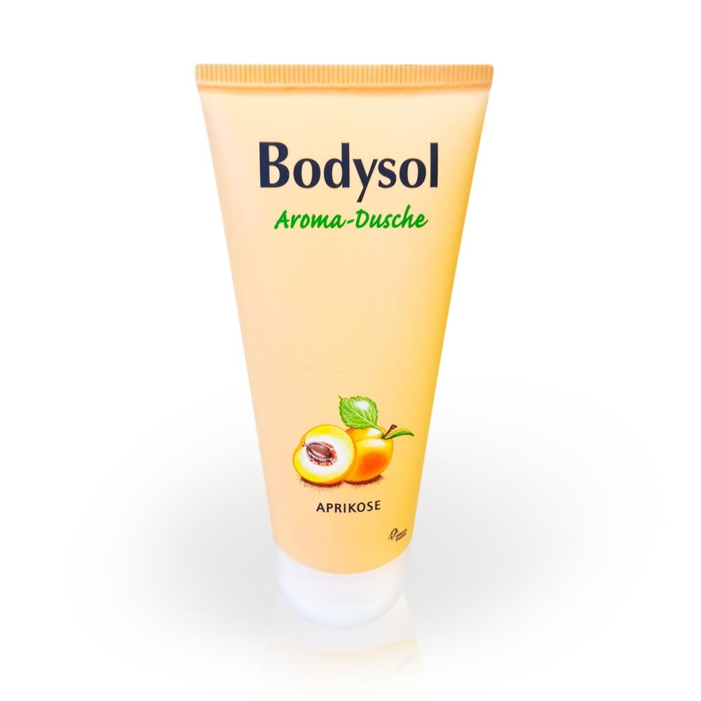 bodysol aroma dusche aprikose bei volksversand online kaufen volksversand versandapotheke. Black Bedroom Furniture Sets. Home Design Ideas