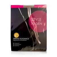 Spring Elegance Style 70den Ad 38-39 Schwarz Kniestrümpfe