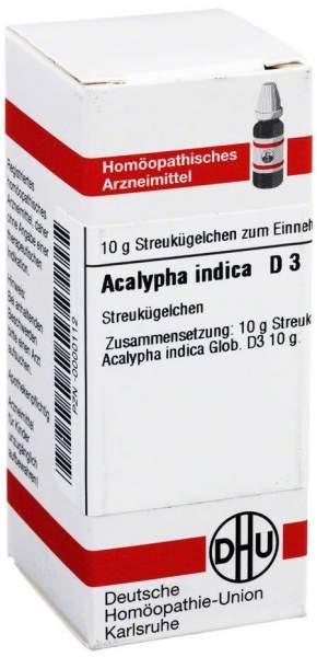 Acalypha Indica D 3 Globuli