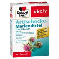 Doppelherz Artischocke-Mariendistel 30 Kapseln