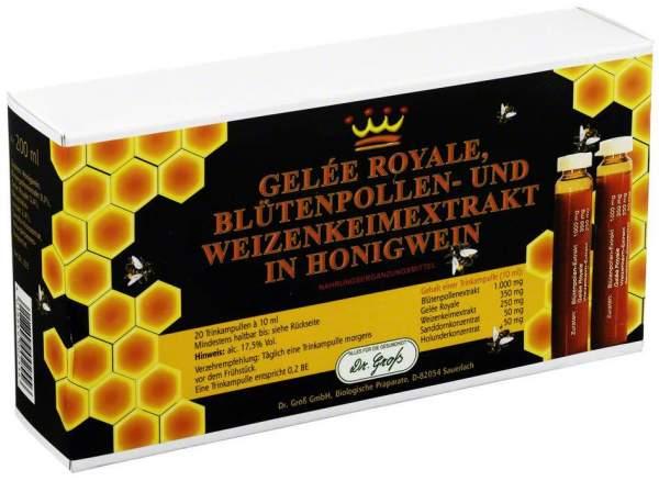 Gelee Royale Blütenpollen + Weizenkeimextrakt