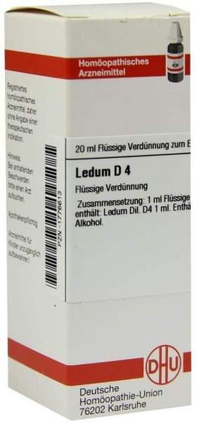 Ledum D4 Dhu 20 ml Dilution