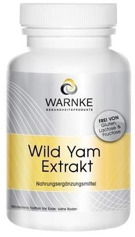 Wild Yam Extrakt 100 Kapseln