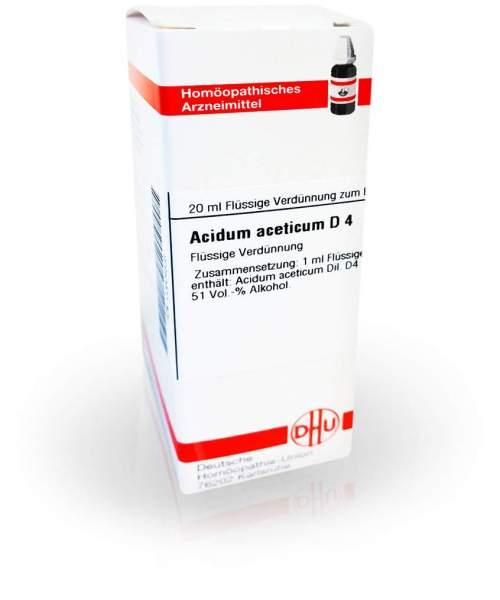 Acidum Aceticum D 4 Dilution