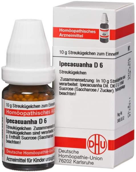 Ipecacuanha D6 10 G Globuli