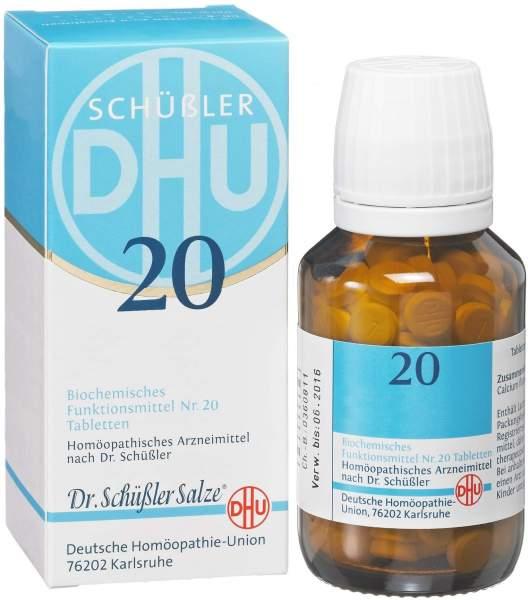 Biochemie DHU 20 Kalium aluminium sulfuricum D6 80 Tabletten