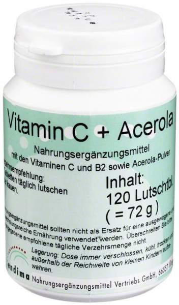 Vitamin C + Acerola 120 Lutschtabletten