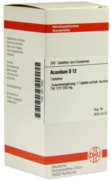 Aconitum D12 Tabletten 200 Tabletten