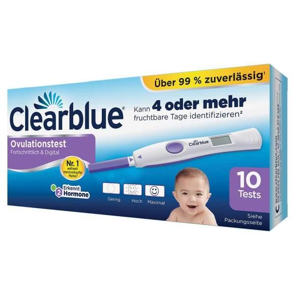 Clearblue Ovulationstest Fortschrittlich & Digital 10 Tests