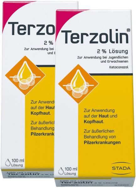 Terzolin 2% 2 x 100 ml Lösung