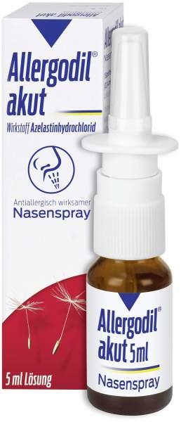 Allergodil Akut Nasenspray 5 ml