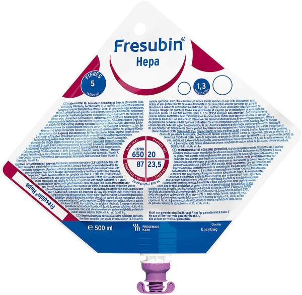 Fresubin Hepa Neutral Easybag 15 x 500 ml