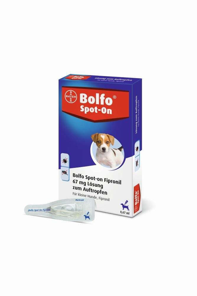 Bolfo Spot On für kleine Hunde bis 10kg