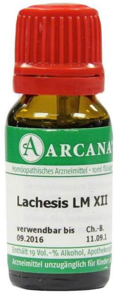 Lachesis Lm 12 Dilution 10 ml