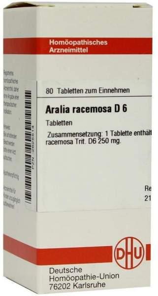 Aralia Racemosa D 6 Tabletten