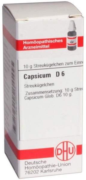 Capsicum D6 10 G Globuli
