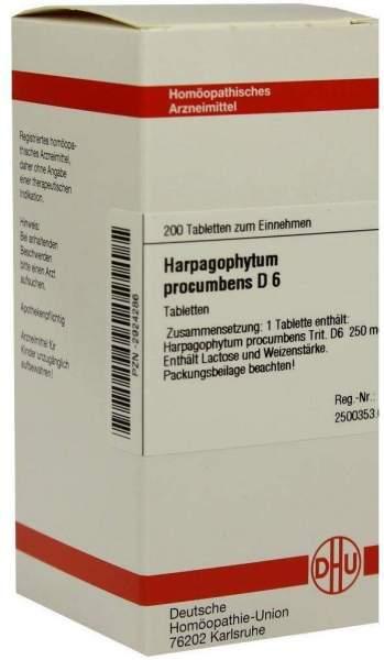 Harpagophytum Procumbens D6 Dhu 200 Tabletten