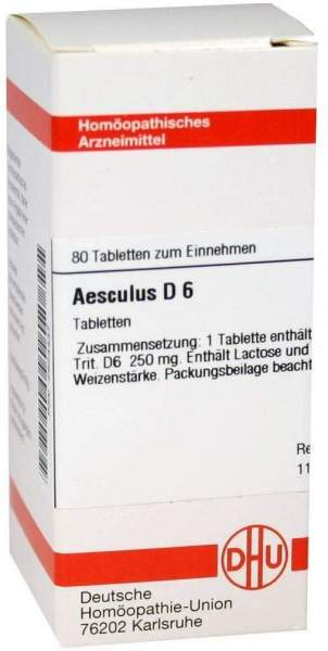 Aesculus D6 80 Tabletten