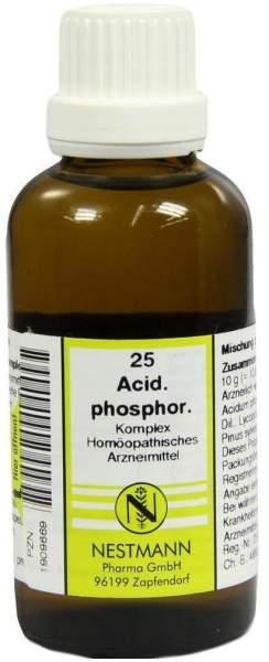 Acidum Phosphoricum Komplex Nr. 25 50 ml Dilution