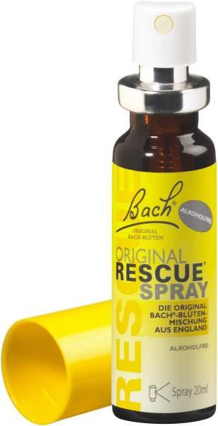 Bach Original Rescue 20 ml Spray alkoholfrei