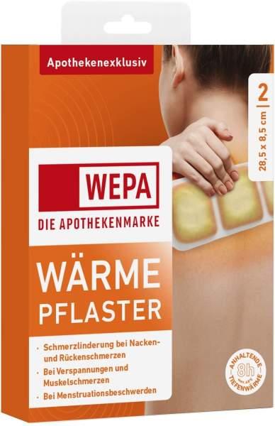 Wepa Wärmepflaster Nacken und Rücken 2 Kompressen