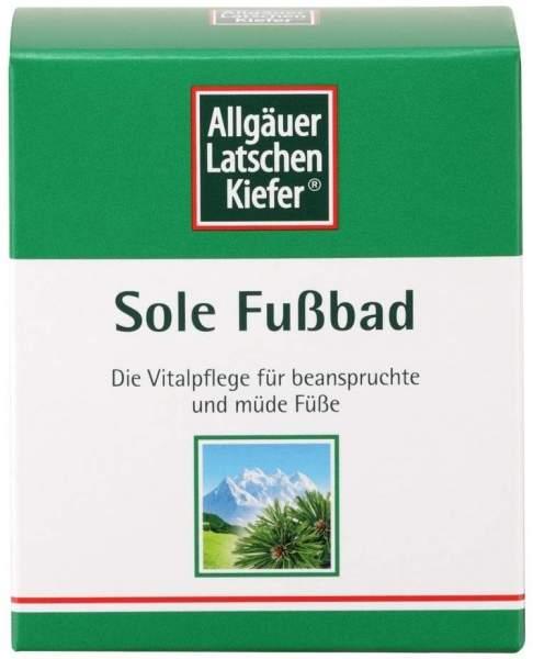 Allgäuer Latschenkiefer Sole Fußbad 10 x 10 g