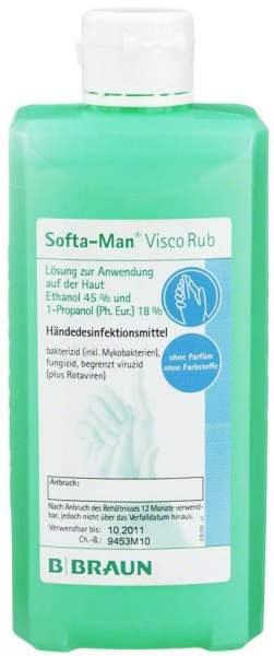 Softa Man Viscorub 500 ml Händedesinfektionsmittel
