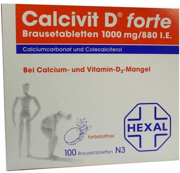 Calcivit D Forte 100 Brausetabletten