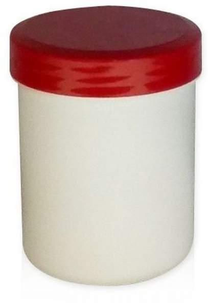 Kruke Mit Deckel, Weiß, Kunststoff 1000 G