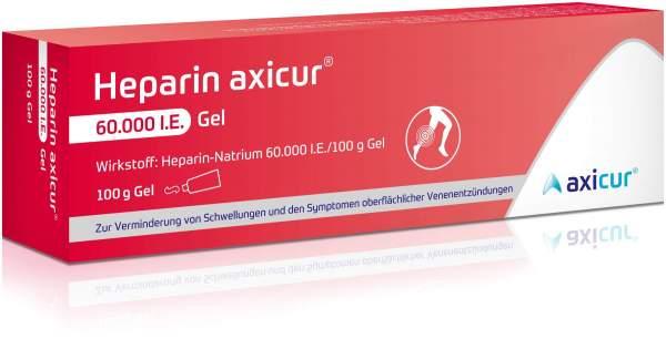Heparin Axicur 60.000 I.E. 100 g Gel