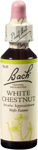 Bachblüten White Chestnut 20 ml Tropfen