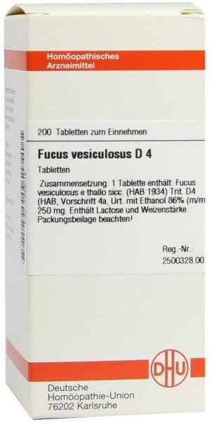 Fucus Vesiculosus D4 200 Tabletten