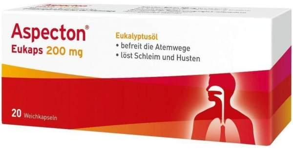 Aspecton Eukaps 200 mg Weichkapseln 20 Kapseln