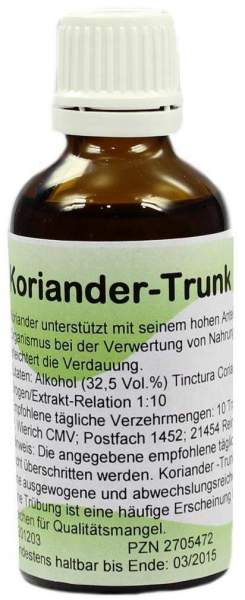 Koriander Trunk 50 ml Tropfen