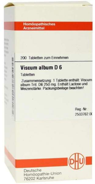 Viscum Album D6 Tabletten 200 Tabletten