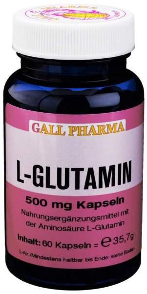 L-Glutamin 500mg Kapseln