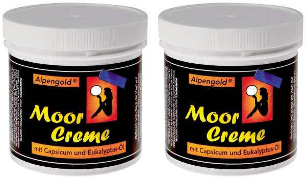 Moorcreme Set 2 x 250 ml