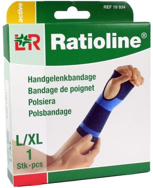 Ratioline Active Handgelenkbandage Größe L-XL 1 Stück
