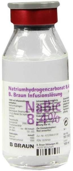 Natriumhydrogencarbonat B.Braun 8,4% 100 ml Infusionslösung