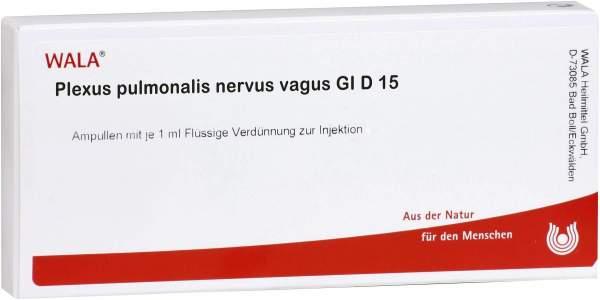 Wala Plexus Pulmonalis Nervus Vagus Gl D8 10x1ml Ampullen