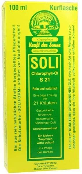 Soli Chlorophyll Öl S 21 100 ml Öl