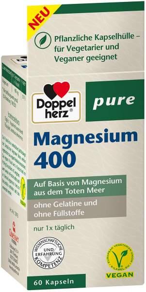 Doppelherz pure Magnesium 400 60 Kapseln