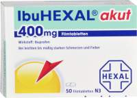 IbuHexal akut 400 mg 50 Filmtabletten