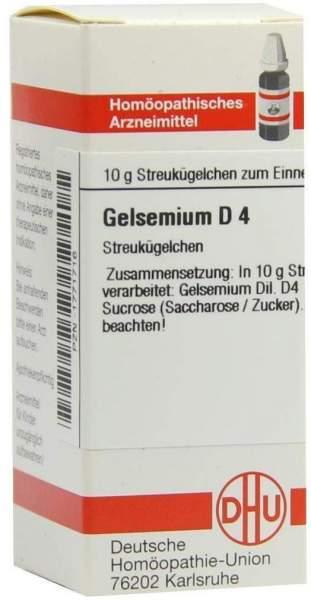 Gelsemium D4 10 G Globuli